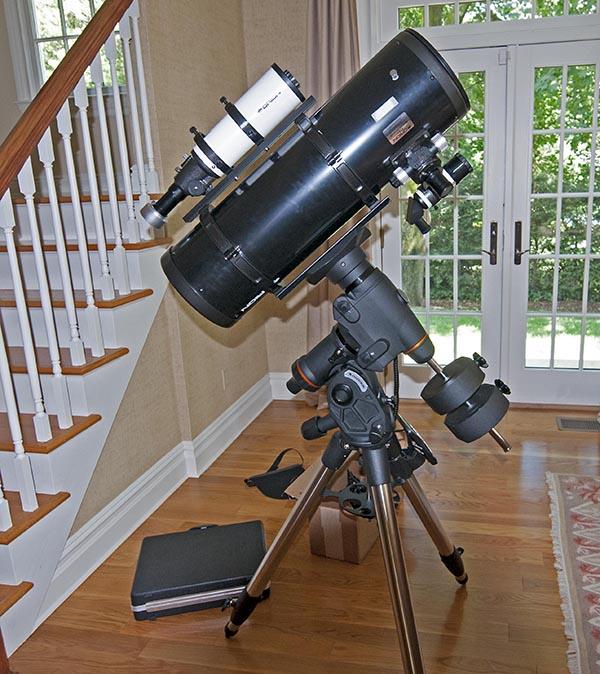 telescope astrophotographie
