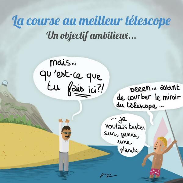 telescope humour