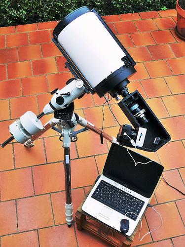 telescope maison