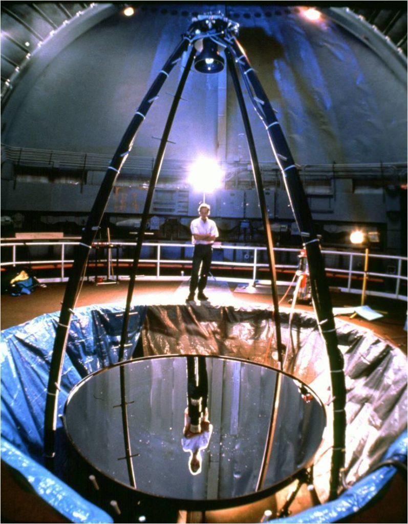 telescope mirror