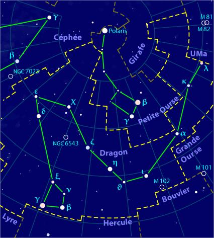 astronomie carte du ciel